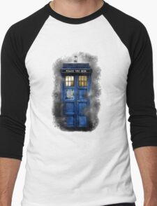 Haunted blue phone booth T-Shirt