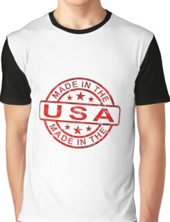 Made in USA Graphic T-Shirt