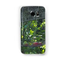 Signpost with Apples.......Dorset UK Samsung Galaxy Case/Skin