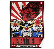 Prevent the Drop Poster
