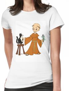 Let's Get Medieval - Funky Monk Womens Fitted T-Shirt