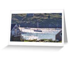 Sail to Manana Greeting Card