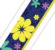Flower Letter Z Sticker