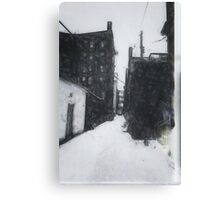 Dwight Street Alley Canvas Print