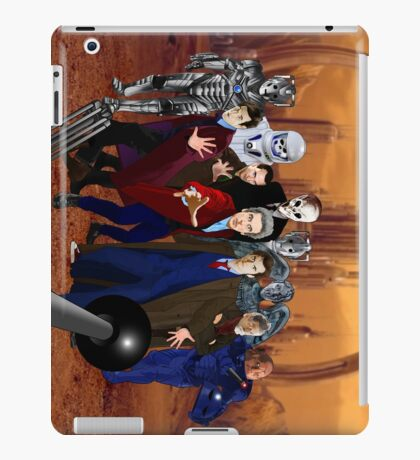 Doctors and Monsters iPad Case/Skin