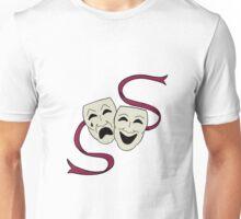 Comedy Vs. Tragedy Unisex T-Shirt