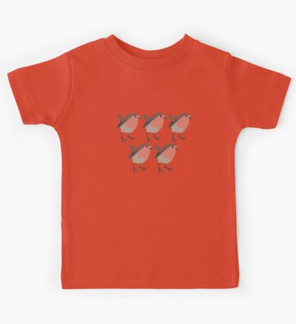 five red breasts Kids Tee