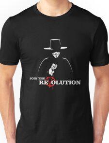 V for Vendetta Join The ReVolution! Unisex T-Shirt