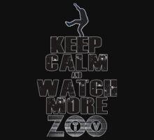 u2 keep calm ZooTv One Piece - Short Sleeve