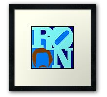 Ron Love (Anchorman) Framed Print