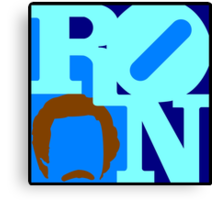 Ron Love (Anchorman) Canvas Print