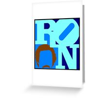 Ron Love Greeting Card