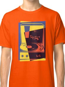 Vintage Turntable Stereo Classic T-Shirt