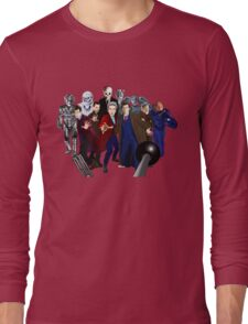 Doctors and Monsters Long Sleeve T-Shirt