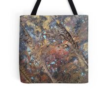 Three Feathers 'Rain Painting' Tote Bag