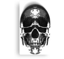 Matryoshka Skull Dark Canvas Print