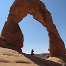 Delicate Arch - Skyview by dolphinandcow