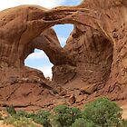 Faces of Nature - Double Arch by dolphinandcow