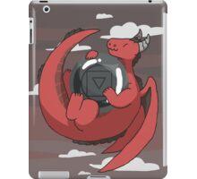 Hematite Dragon iPad Case/Skin