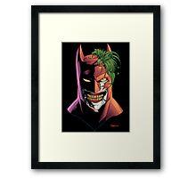 Batface Framed Print