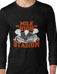 Mile high stadium . Long Sleeve T-Shirt