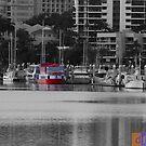 Red Boat by Darren Freak