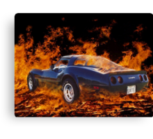 Hot Rod ! Canvas Print