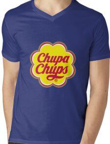chupa-chups Mens V-Neck T-Shirt