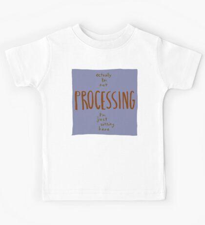 not processing Kids Tee