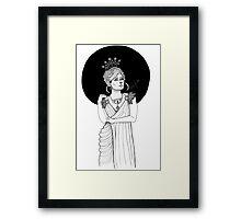 CORINNA Framed Print