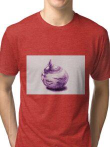 Ancient Greek Pottery Drawing Tri-blend T-Shirt
