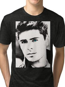 Zac Efron Tri-blend T-Shirt