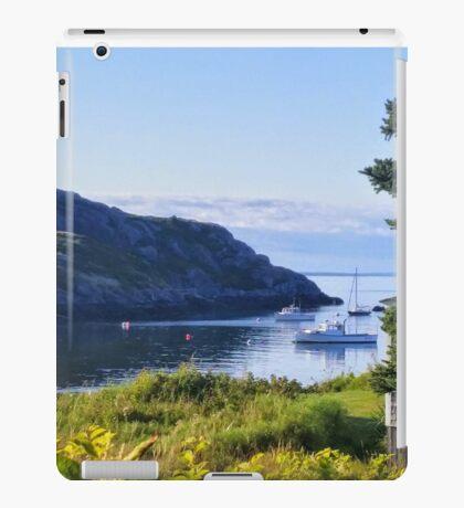 Boats Between Islands iPad Case/Skin