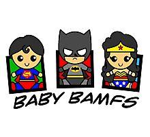 BABY BAMFS Photographic Print
