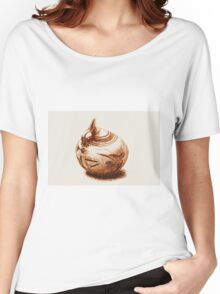 Ancient Greek Pottery Drawing Women's Relaxed Fit T-Shirt