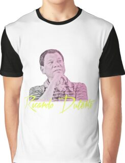 Duterte - Retro Print #1 Graphic T-Shirt