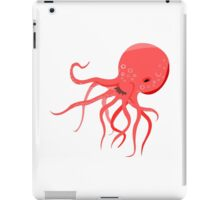 Red Octopus iPad Case/Skin