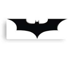 Christopher Nolan Dark Knight Canvas Print