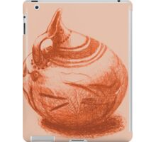 Ancient Greek Pottery Drawing iPad Case/Skin