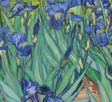 Irises by Vincent Van Gogh Sticker