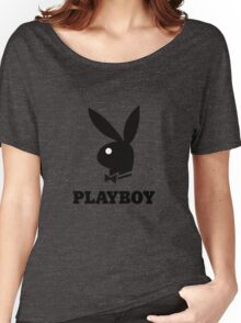 Playboy Women's Relaxed Fit T-Shirt