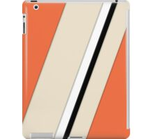 orange strokes iPad Case/Skin