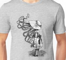 Victorian Squid faced girl Unisex T-Shirt
