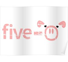 Police Pigs Five 0 Poster