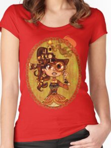 Steampunk Doc Women's Fitted Scoop T-Shirt