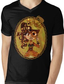 Steampunk Doc Mens V-Neck T-Shirt