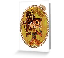 Steampunk Doc Greeting Card