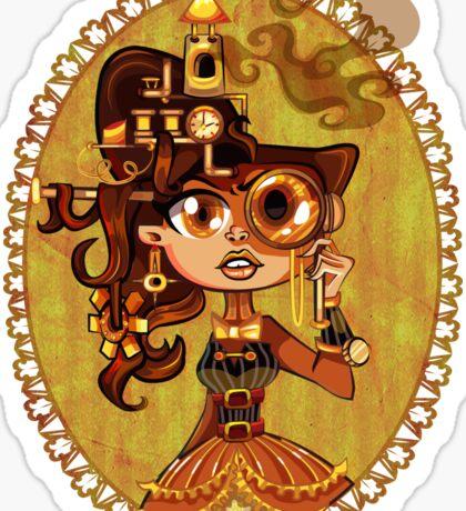 Steampunk Doc Sticker