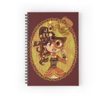 Steampunk Doc Spiral Notebook
