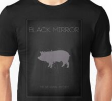 Black Mirror Pig Unisex T-Shirt
